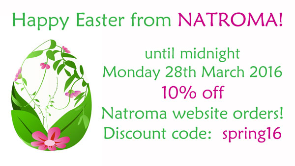 Special Offer from Natroma aromatherapy skincare