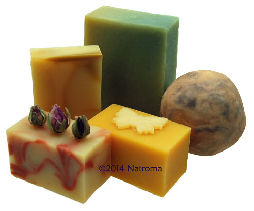 Handmade aromatherapy goats milk soaps by The Natural Soapworks