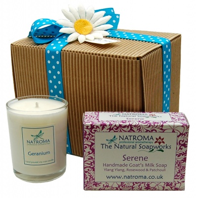 Soap & Candle Hamper