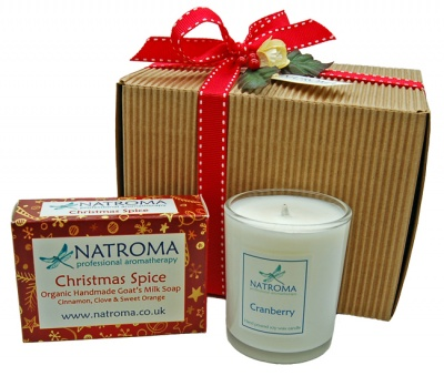 Christmas Soap & Candle Hamper