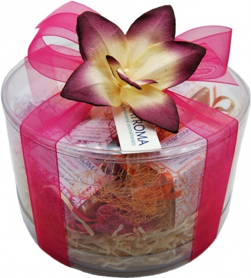 Orchid Soap Hamper