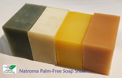 Vegan Friendly Palm Free Soap Slices