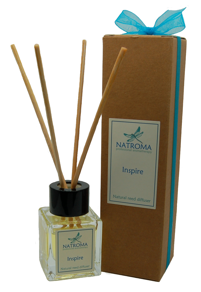 Natroma Natural Rattan Reed Diffuser Essential Oils Uk