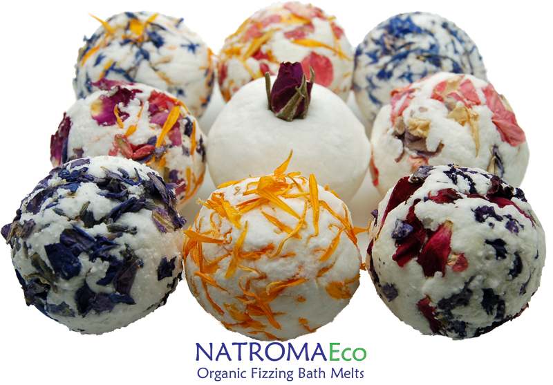 Natroma Organic Bath Melts Eco Aromatherapy Zero Packaging