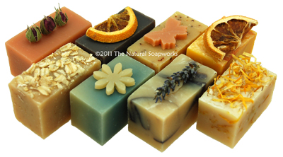 Handmade Natural Goats Milk Soaps perfect for sensitive skin