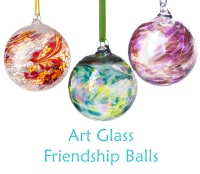 Art Glass Friendship Balls