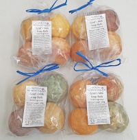 Goats Milk Soap Balls